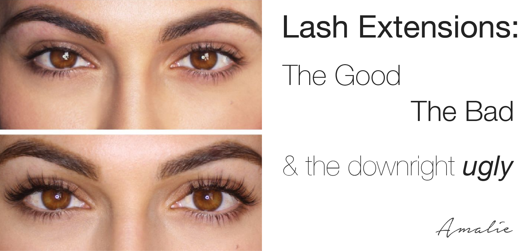 Mascara remover for eyelash extensions