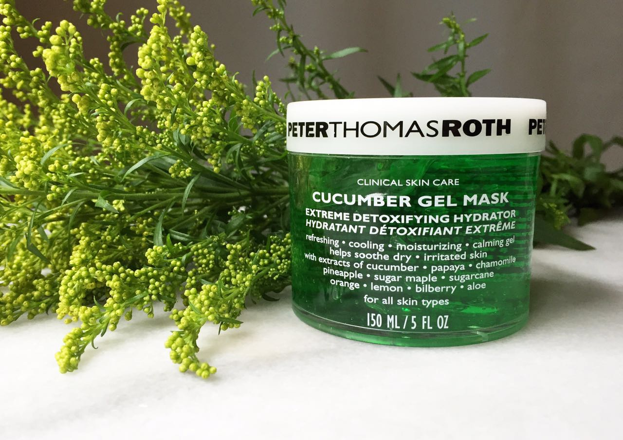 Review: Cucumber (Cucumis Sativus) in Skincare + Peter Thomas Roth's Cucumber Gel Mask